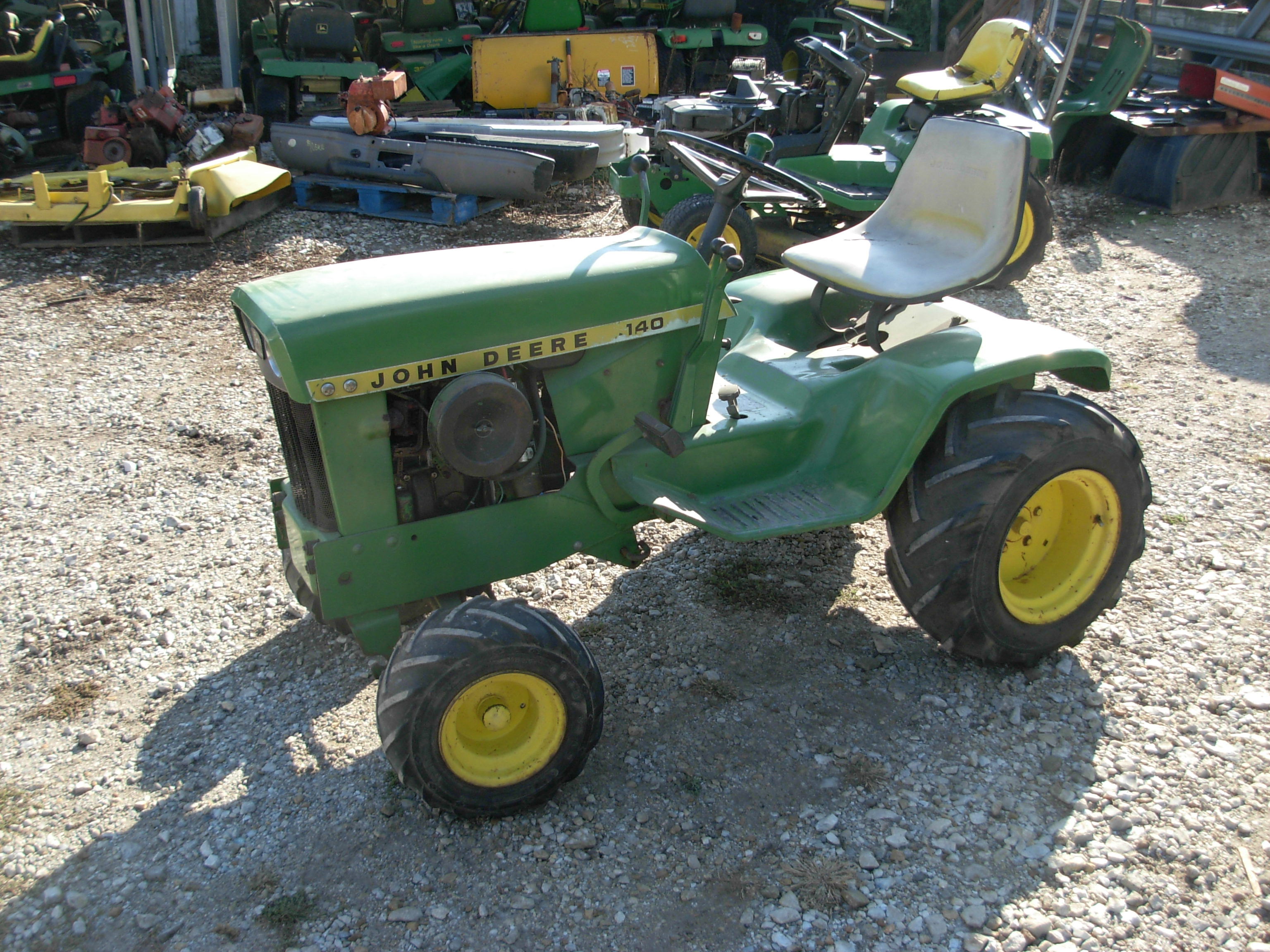 used john deere tractors for sale j d lawn tractor mendon il