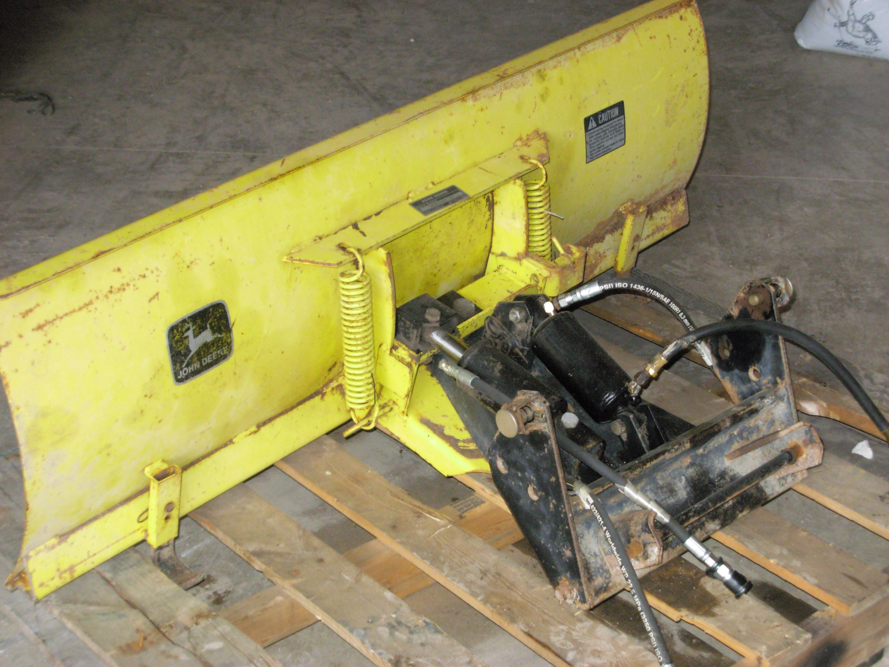 Lawn And Garden Tractor Attachments J D Mendon Il. John Deere 420 430 4way Snow Blade 42 Sn M00042 1525783 3 New Hoses Nice Edge And Feet. John Deere. 1993 John Deere 430 Wiring Diagram At Scoala.co