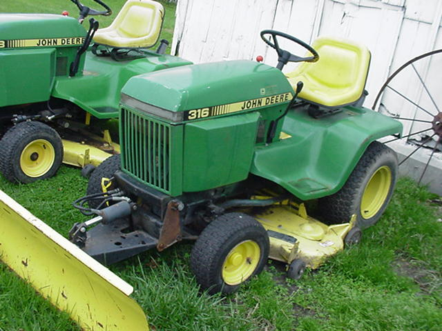 Used john deere tractors for sale j d lawn tractor for Garden machinery for sale